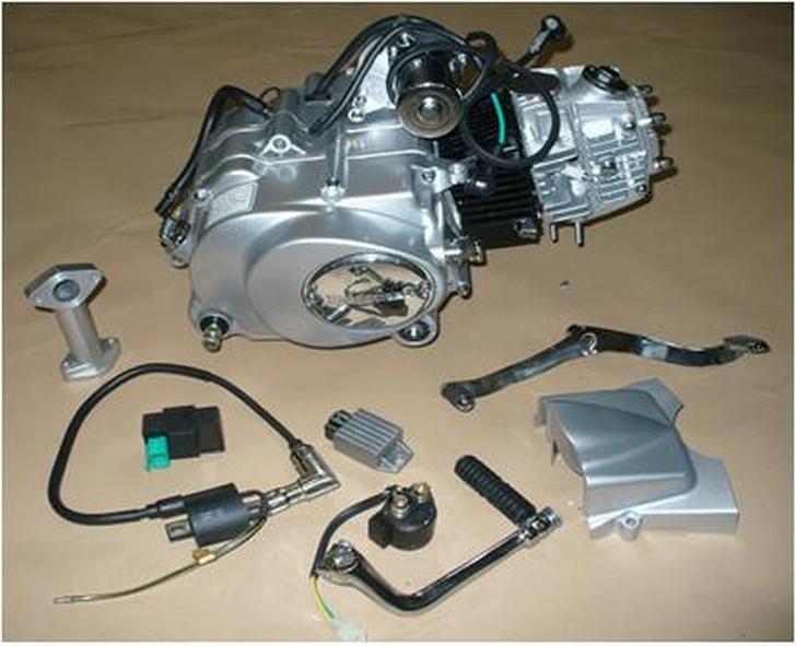 MOTOR COMPLETO 110cc C/CERTIFICADO MOTOMEL