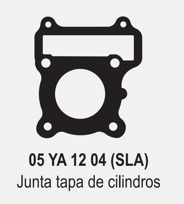 JUNTA TAPA CILINDRO YAMAHA CRYPTON 105 / 110 NEW D 52,5 mm. ALFA 05YA1204